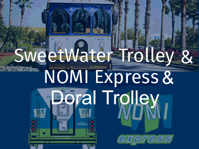 SweetWater Trolley /North Miami Express Shuttle