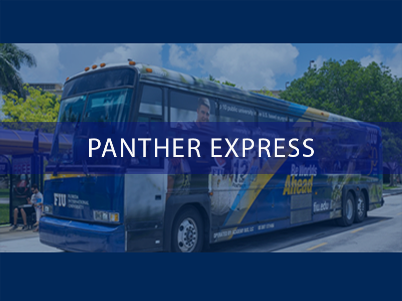 Golden Panther Express Get Around with Campus Transportation